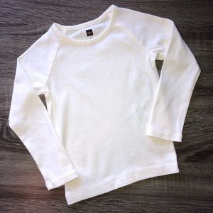 Tea Collection size 3T long sleeve purity tee